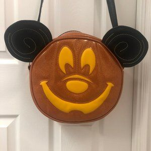Love pain and stitches mickey pumpkin bag